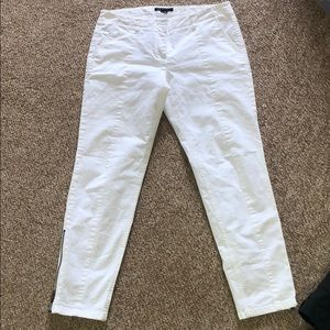 Theory White Jeans